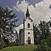 Kostel Panny Marie Lourdske Art Print