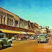 Kresge's Department Store In Oshkosh Wi In 1950 Art Print