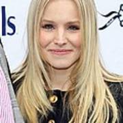 Kristen Bell At A Public Appearance Print by Everett