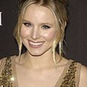 Kristen Bell At Arrivals For 12th Art Print by Everett