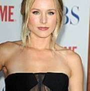 Kristen Bell At Arrivals For Cbs, The Art Print