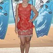 Kristen Bell Wearing A Stella Mccartney Art Print