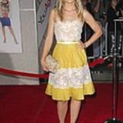 Kristen Bell Wearing A Valentino Dress Art Print