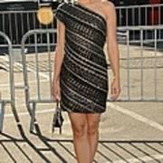 Kristen Bell Wearing An Etro Dress Art Print