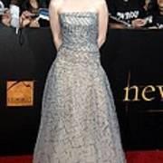 Kristen Stewart Wearing An Oscar De La Art Print
