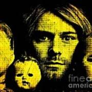 Kurt Cobain Art Print by Ankeeta Bansal