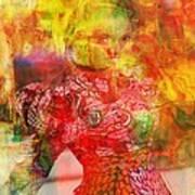La Belle Art Print by Fania Simon
