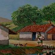 La Dama Del Rio Art Print