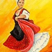 La Danseuse Art Print