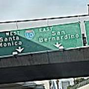 La Freeway Art Print