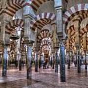 La Mezquita Cordoba Spain Art Print