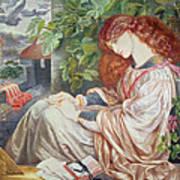 La Pia De Tolomei Art Print