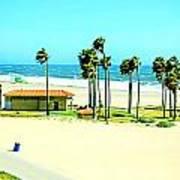 La Playa  Art Print