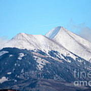 La Sal Mountains 111 Art Print
