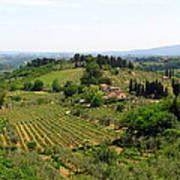 La Toscana Art Print