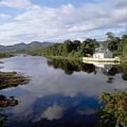 Lackagh River, Creeslough, County Art Print