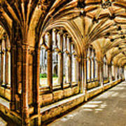 Lacock Abbey Art Print
