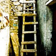 Ladder To Art Print