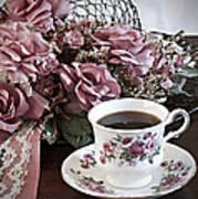Ladies Tea Time Art Print