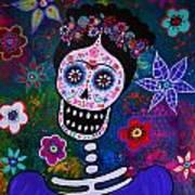 Lady Frida Art Print