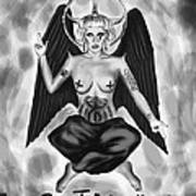 Lady Gaga Baphomet  Art Print by Kenal Louis