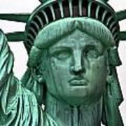 Lady Liberty Up Close Art Print