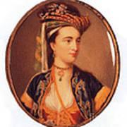 Lady Mary Wortley Montagu Art Print