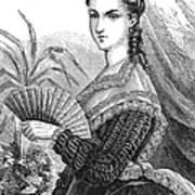 Lady With Fan, C1878 Art Print