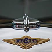 Lagonda Hood Emblem Art Print