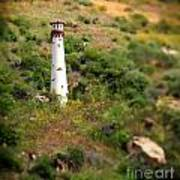 Laguna Beach Light Tower Art Print