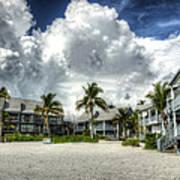 Lahaina Resort In Fort Myers Beach Art Print by Vicki Jauron