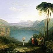 Lake Avernus - Aeneas And The Cumaean Sibyl Art Print