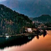 Lake Bled. Slovenia Art Print