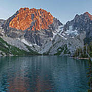 Lake Colchuck Sunset Art Print