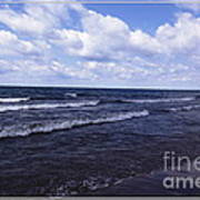 Lake Erie At Evangola State Park 2 Art Print