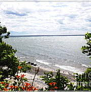 Lake Erie Beach At Sturgeon Point Art Print