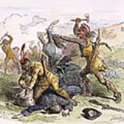 Lake George: Massacre, 1757 Art Print