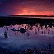 Lake Huron Sunset Art Print