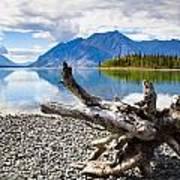 Lake Kathleen In Kluane National Park Art Print