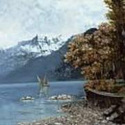 Lake Leman Art Print