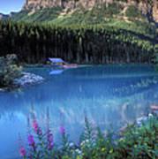 Lake Louise Banff Canada Art Print