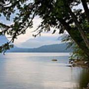 Lake Mcdonald Glacier National Park Montana Art Print