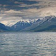 Lake Mcdonald Panorama Art Print