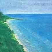 Lake Michigan Art Print by Lisa Dionne