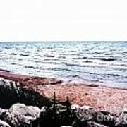 Lake Michigan Lll Art Print