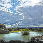 Lake Myvatn - Iceland Art Print