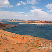 Lake Powell Landscape Panorama Art Print