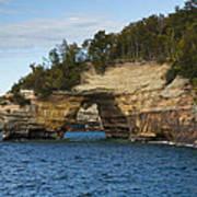 Lake Superior Pictured Rocks 17 Art Print