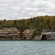 Lake Superior Pictured Rocks 45 Art Print