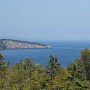 Lake Superior Shovel Point 2 Art Print